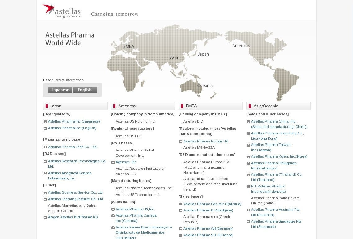 astellas.com