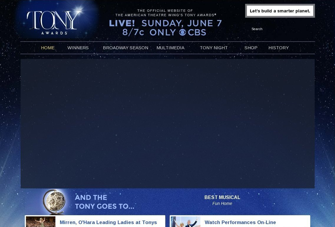 tonyawards.com